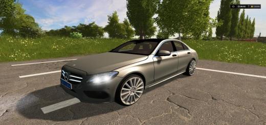 Photo of FS17 – Mercedes Benz C250 Amg Araba Modu V1