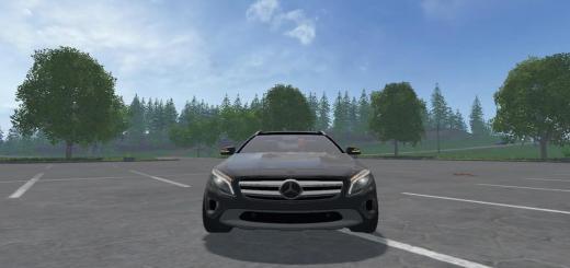 Photo of FS17 – Mercedes Gla 220D Araba Modu V1