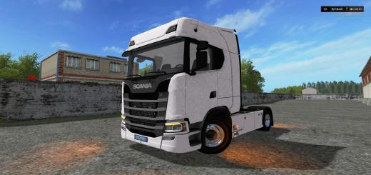 Photo of FS17 – Scania V8 S580 Streamline Kamyon Modu V1.0