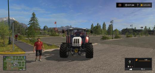 Photo of FS17 – Steyr Terrus 6600 Cvt Ecotec Traktör V1.0