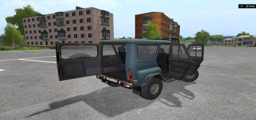 Photo of FS17 – Uaz Hunter V1.0
