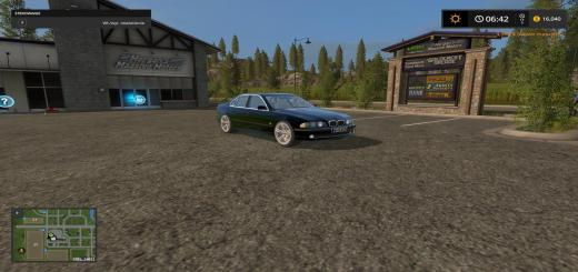 Photo of FS17 – Bmw E39 Serisi 5 Araba Modu V1