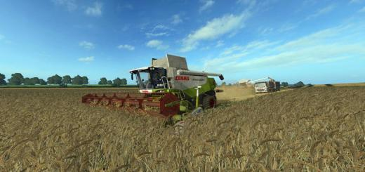 Photo of FS17 – Claas Lexion 580/580Tt Biçerdöver V1