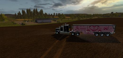 Photo of FS17 – Fight Cancer Römork V1.0