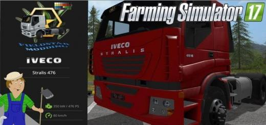 Photo of FS17 – Fsm Iveco Stralis Tır Modu V1.0