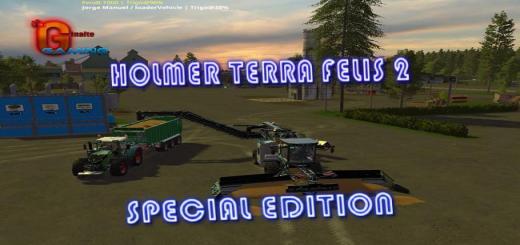 Photo of FS17 – Holmer Terra Felis 2 Special Edition V1.2
