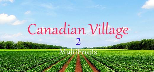 Photo of FS17 – Kanada Köyü Haritası V2.0