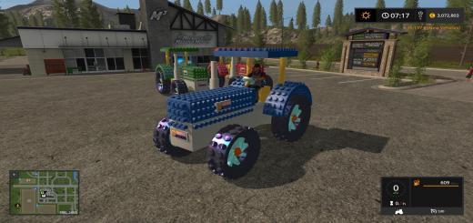 Photo of FS17 – Lego Traktör Modu V1