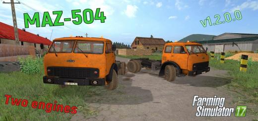Photo of FS17 – Maz 504 V1.2.0