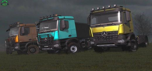 Photo of FS17 – Mercedes Arocs Agrar Kamyon V1.2
