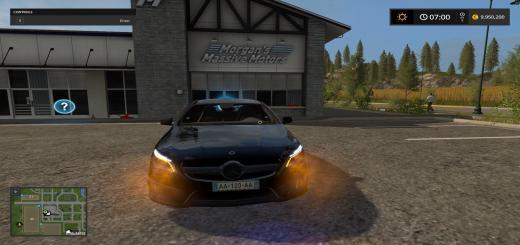 Photo of FS17 – Mercedes Cla 45 Amg Araba Yaması V2