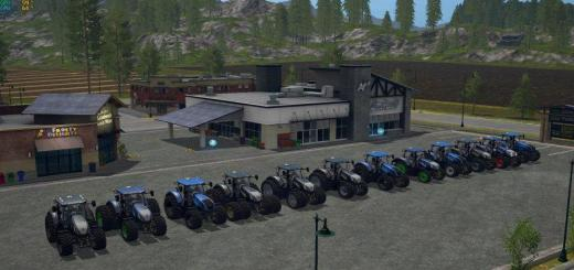 Photo of FS17 – New Holland T7 290/315/Chip V1.0
