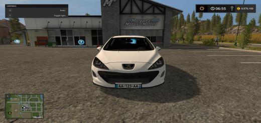 Photo of FS17 – Peugeot 308 Beyaz Araba Modu V1