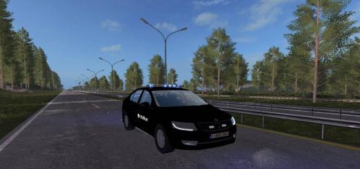 Photo of FS17 – Skoda Belçika Polis Arabası V1