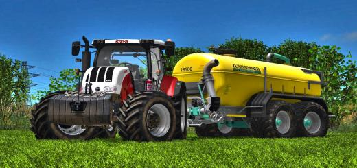 Photo of FS17 – Steyr Cvt 6000 Serisi V2.1.1.2