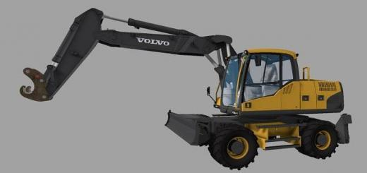 Photo of FS17 – Volvo Ew 160 V1.0