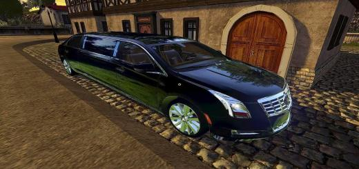 Photo of FS17 – Cadillac Xts Limuzin Modu V1.0