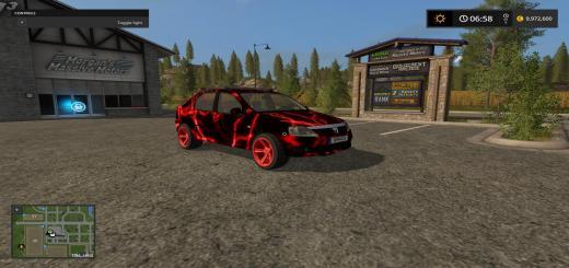 Photo of FS17 – Dacia Logan Kırmızı Araba Modu V1
