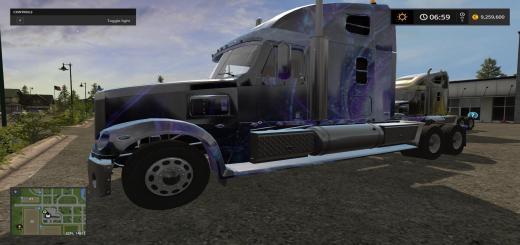 Photo of FS17 – Freightliner Coronado Vortex Multidecal V1.1