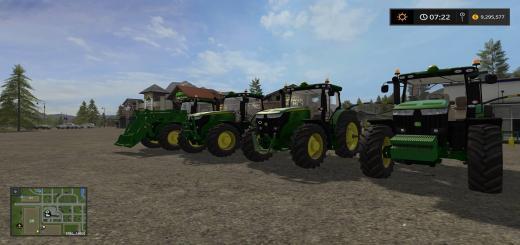 Photo of FS17 – John Deere 7R Traktör V1.0