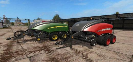 Photo of FS17 – John Deere & Case Ih Balya Makinası V1.0