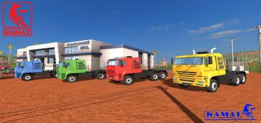 Photo of FS17 – Kamaz 65226 Modifiyeli Kamyon Modu V1.0.0.1