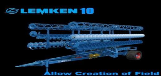 Photo of FS17 – Lemken Heliodor Gigant 10 V1.0
