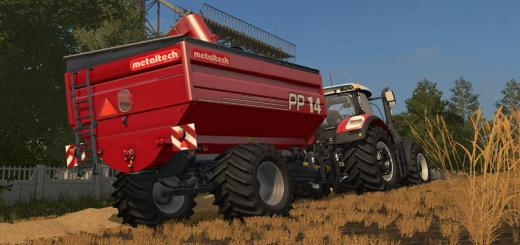 Photo of FS17 – Metaltech Pp 14 Römork V1