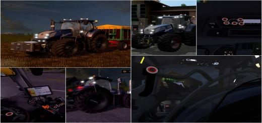 Photo of FS17 – New Holland T7 290/315/chip V2.1.0