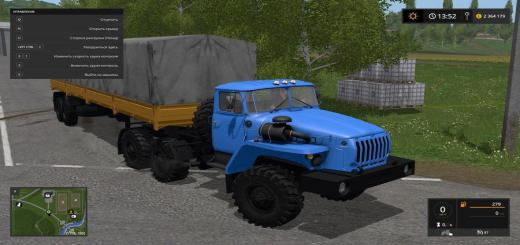 Photo of FS17 – Ural 4320 + Nefaz 9334-20-16 V1.1