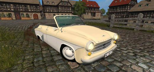 Photo of FS17 – Wartburg 311 Cabrio V1.0