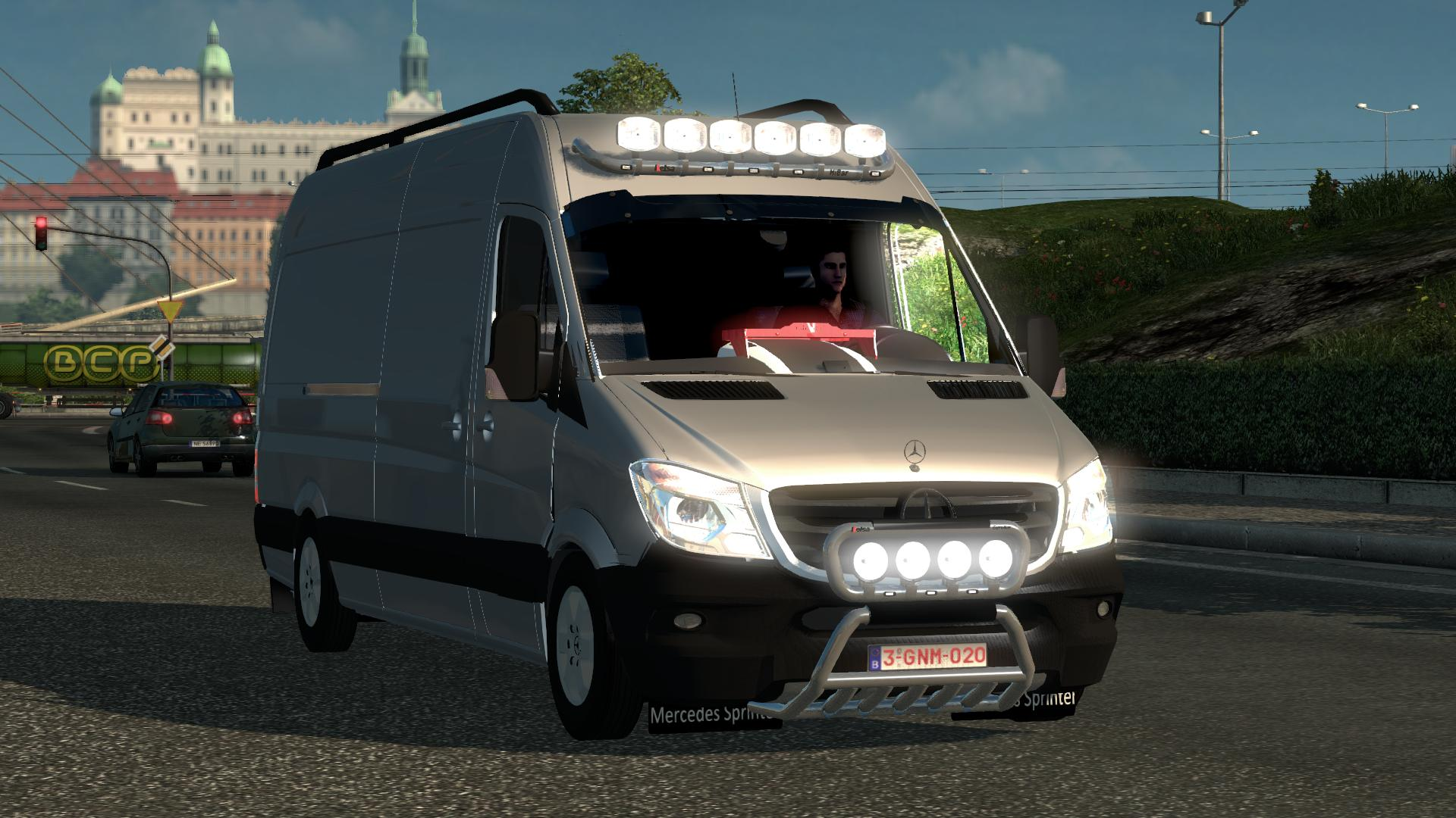 Photo of FS17 – Mercedes Sprinter Araba Modu