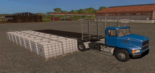 Photo of FS17 – Fliegl Universal Semitrailer Ual V1.0