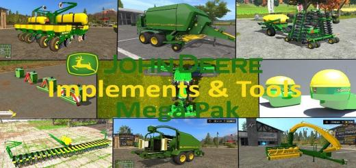 Photo of FS17 – John Deere Ekipman Paketi V1