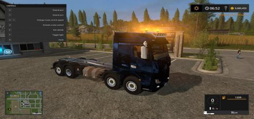 Photo of FS17 – Mercedes Actros Mp4 It Runner 8X8 V1.0