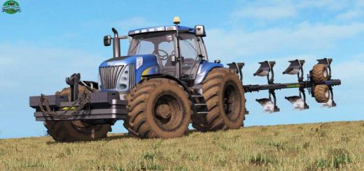 Photo of FS17 – New Holland Tg285 Supersteer V1.0