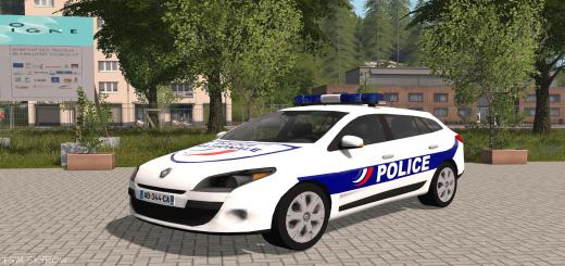 Photo of FS17 – Renault Megane 3 Estate Polis Arabası V2