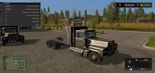 Photo of FS17 – Rubberduck Mack Smokeskin V1.0