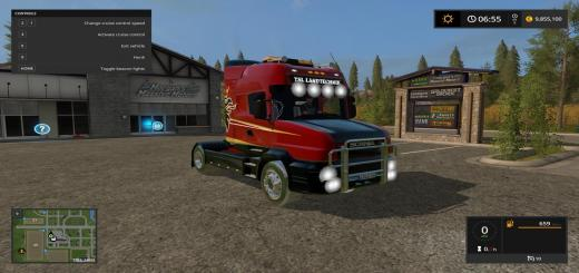 Photo of FS17 – Scania T164 3 Akslı Kamyon V1.0