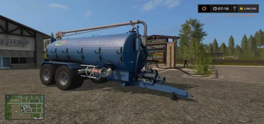 Photo of FS17 – Slurrykat Boom Tanker V1.0