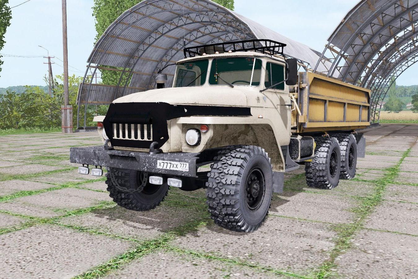 Photo of FS17 – Ural 5557 Somosval V1.0