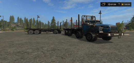 Photo of FS17 – Ural 6614 8X8 Kamyon V1.1