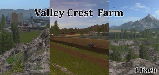 Photo of FS17 – Valley Crest 4X Çiftlik Haritası V1.0