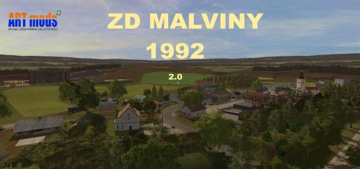 Photo of FS17 – Zd Malviny 1992 V2.0