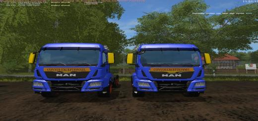 Photo of FS17 – Aguas Tenias Man Tgs V1.0