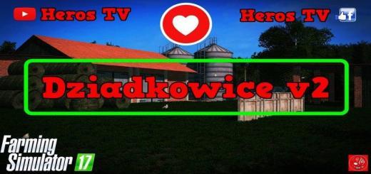 Photo of FS17 – Dziadkowice Çiftlik Haritası V2.0