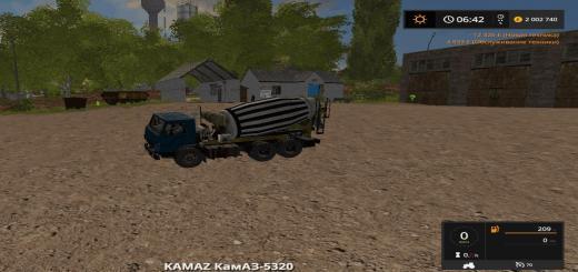 Photo of FS17 – Kamaz 5320 Beton Mikser Modu V1.0