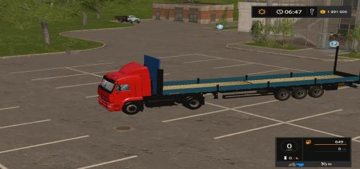 Photo of FS17 – Kamaz 5460 + Schwarzmuller V3.0