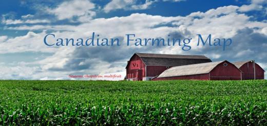 Photo of FS17 – Kanada Tarım Haritası V1.0
