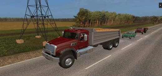 Photo of FS17 – Mack Damperli Kamyon V1.0